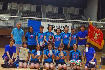 2004年から11連覇となる近畿地連大会優勝の成績をおさめた豊中市職チーム