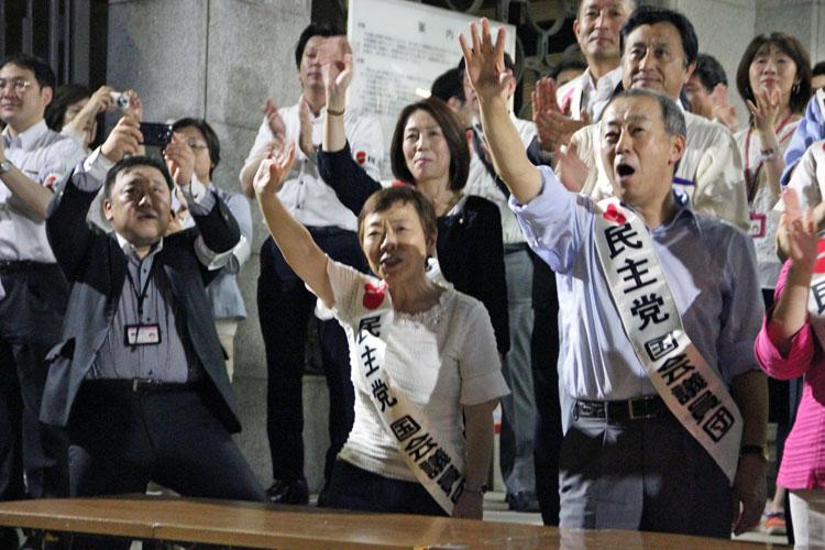 廃案にむけ5千人が結集/国会請願行動で組合員の声届ける−自治労大阪府本部