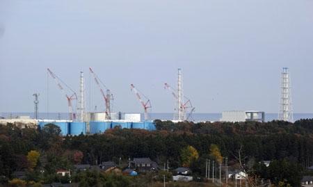 廃炉作業が進められている福島第一原発